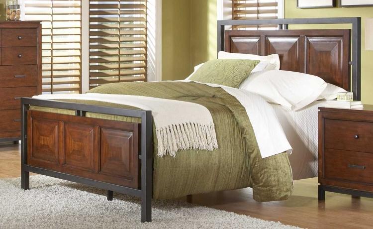 Skyline Panel Bed