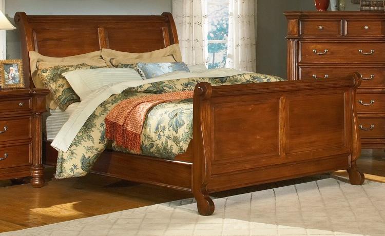 Livington Sleigh Bed