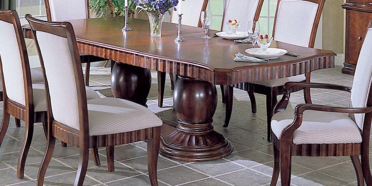 Montclaire Double Pedestal Dining Table