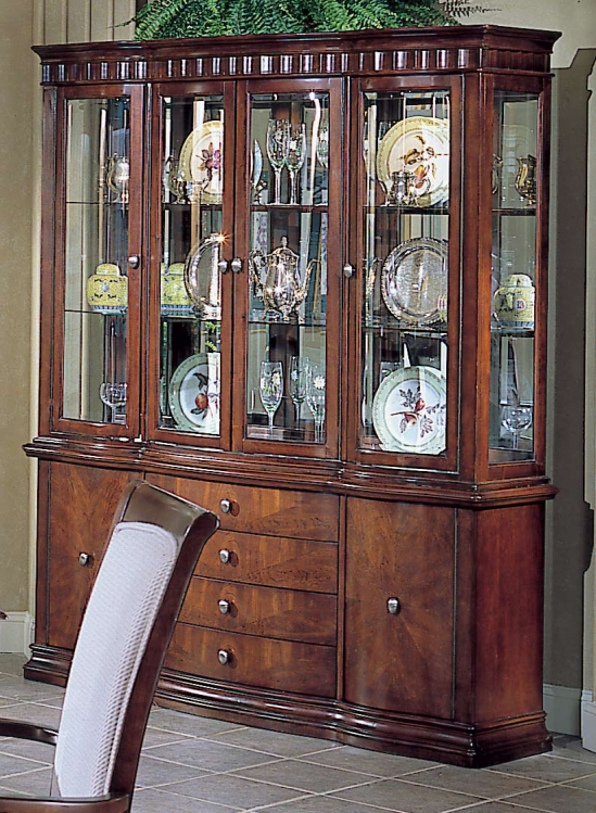 Homelegance Montclaire China Cabinet with Lights