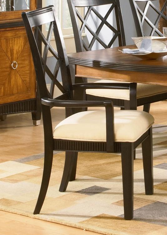 Chameleon Arm Chair-Lattice Back
