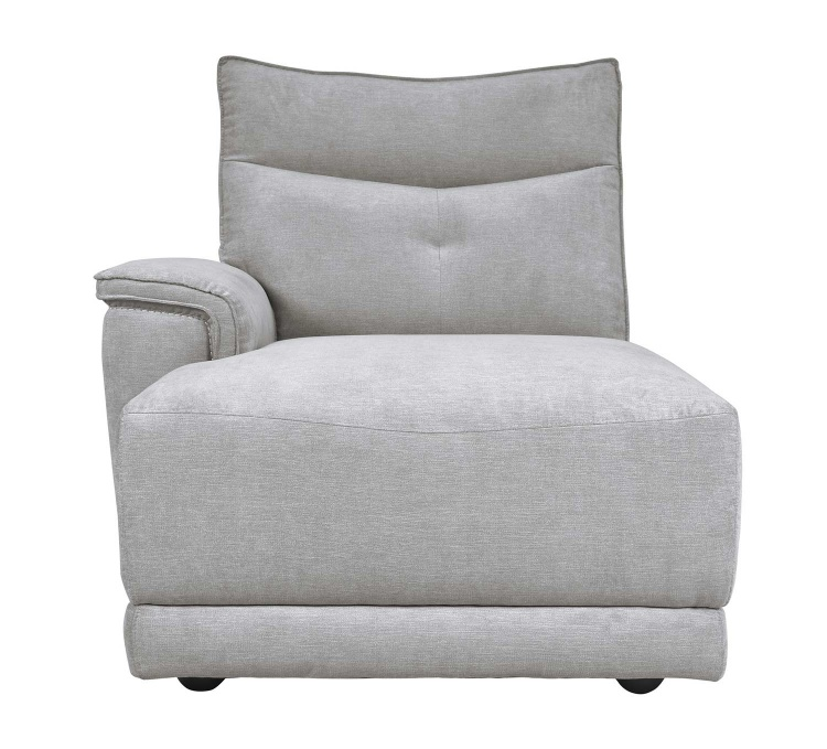 Homelegance Tesoro Left side chaise - Mist Gray