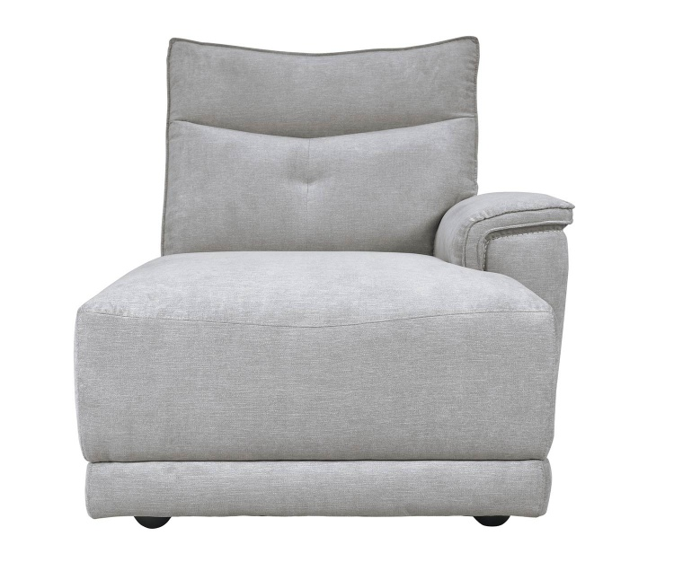 Homelegance Tesoro Right side chaise - Mist Gray