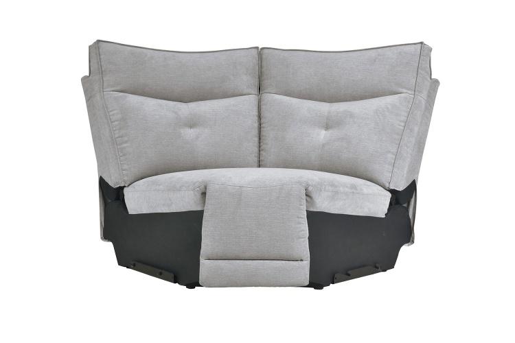 Tesoro Corner Seat - Mist Gray