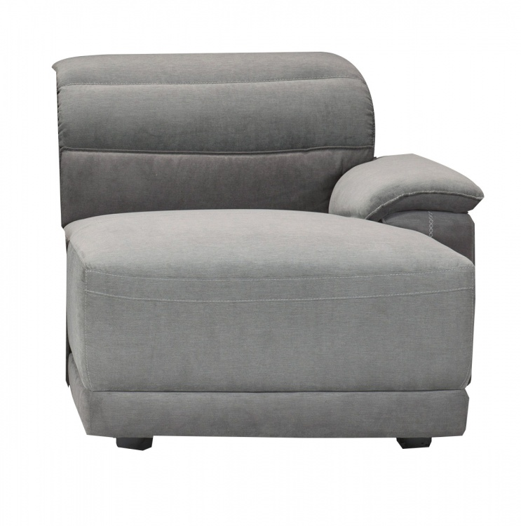 Ember Right Side Chaise - Dark Gray