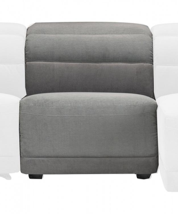 Ember Armless Chair - Dark Gray