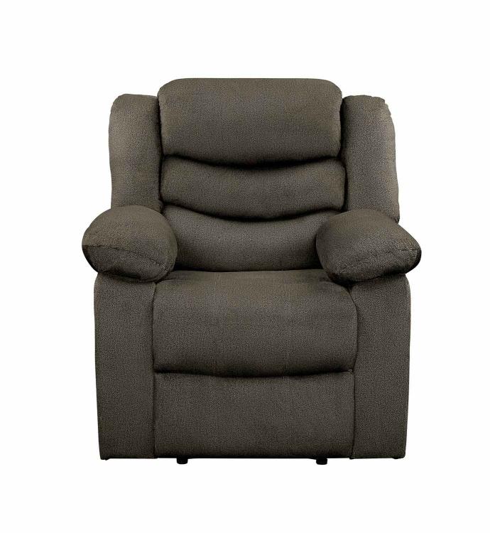 Discus Reclining Chair - Brown