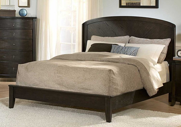 Avalon Dark Low Profile Bed