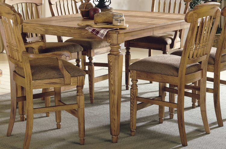 Mendocino Pub Dining Table with Extension