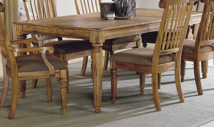 Mendocino Dining Table with Leaves