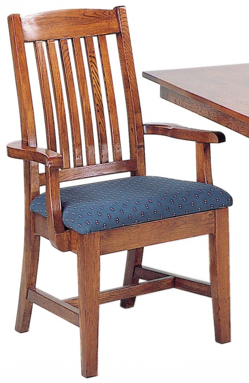Heritage Solid Oak Arm Chair