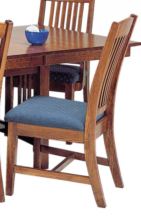Heritage Solid Oak Side Chair