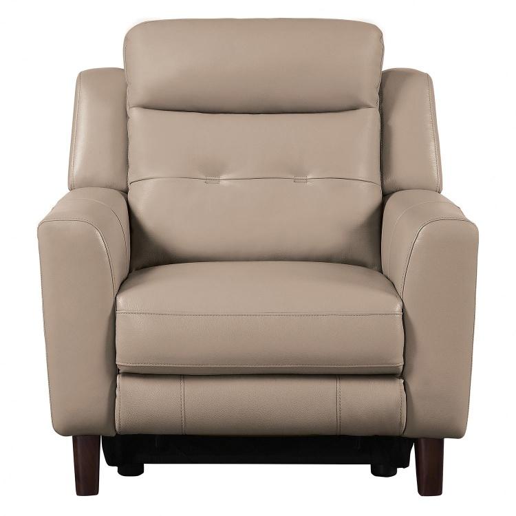Wystan Power Reclining Chair - Beige
