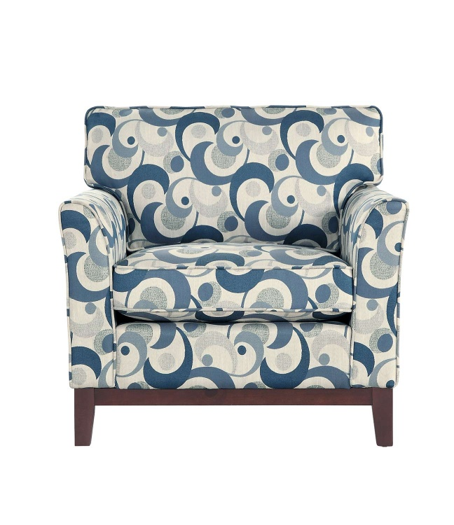Blue Lake Accent Chair - Gray
