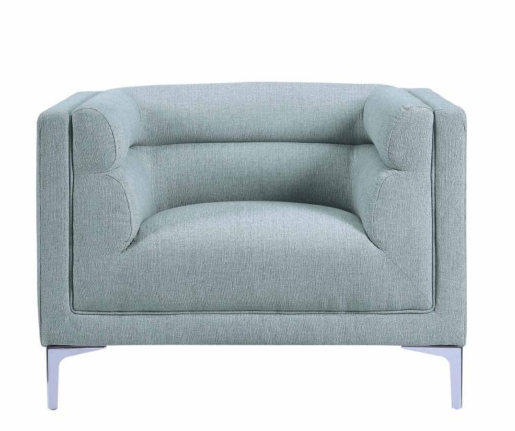 Vernice Chair - Light fog gray