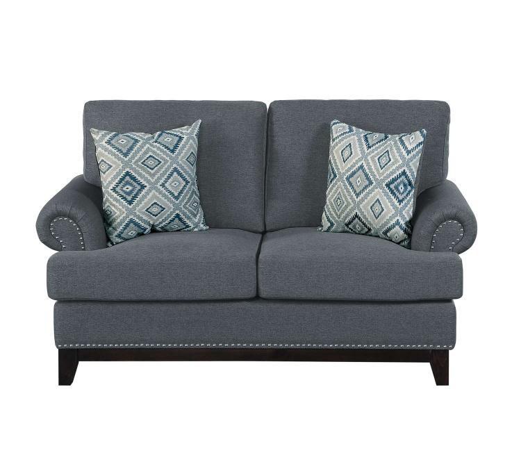 Beacon Love Seat - Gray