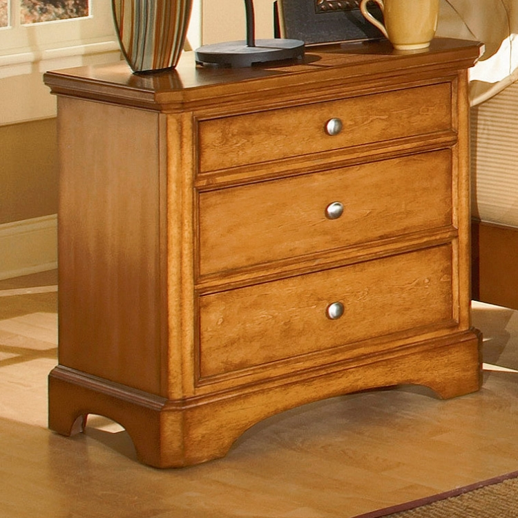 Laurel Heights Night Stand-Homelegance