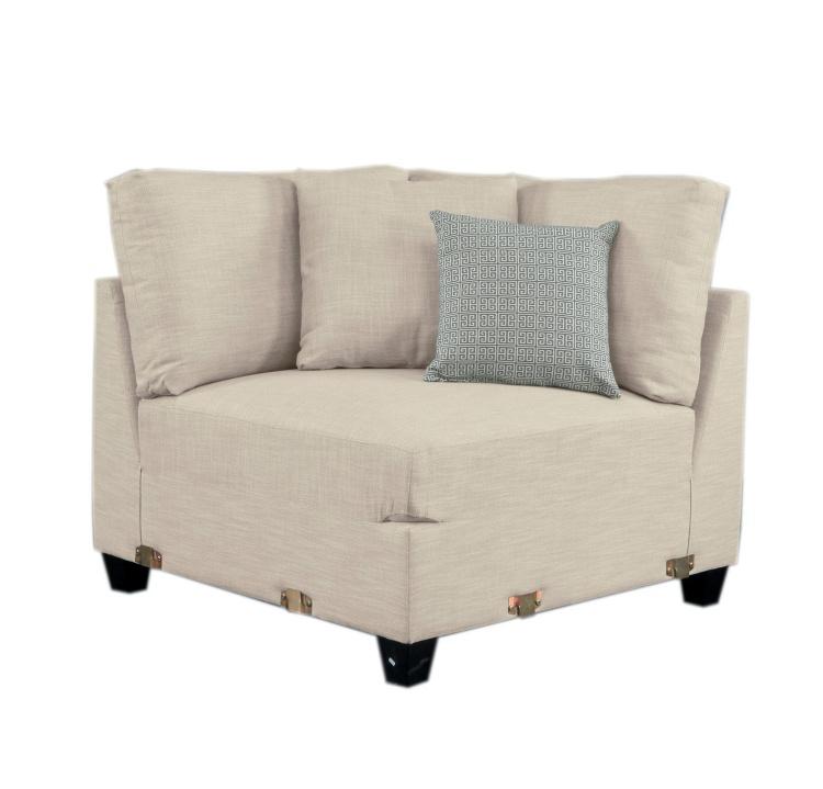 Southgate Corner Seat - Ivory