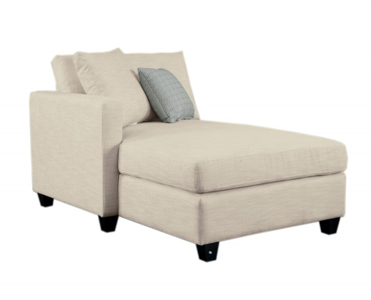 Homelegance Southgate Left Side Chaise - Ivory