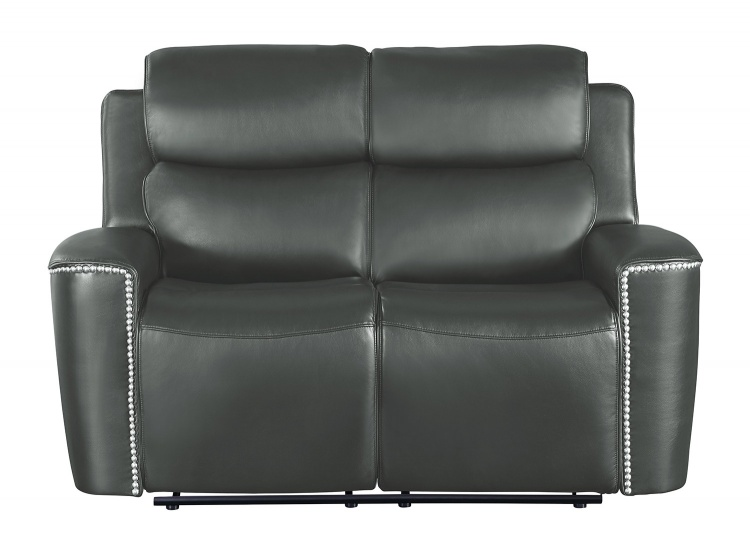 Altair Double Reclining Love Seat - Gray
