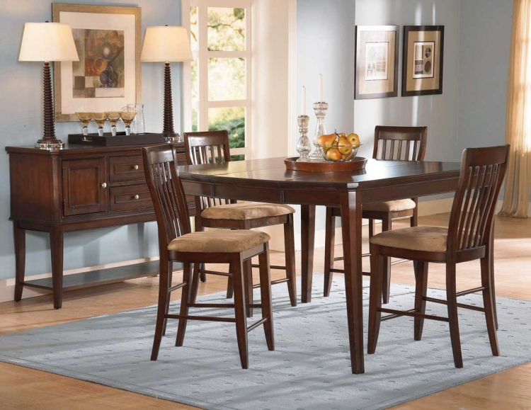 Laurel Height Pub Dining Table Cherry