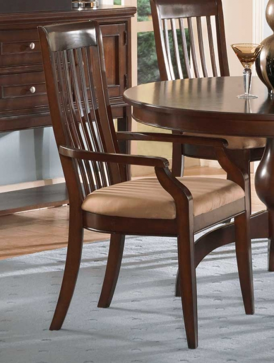 Laurel Height Arm Chair Cherry