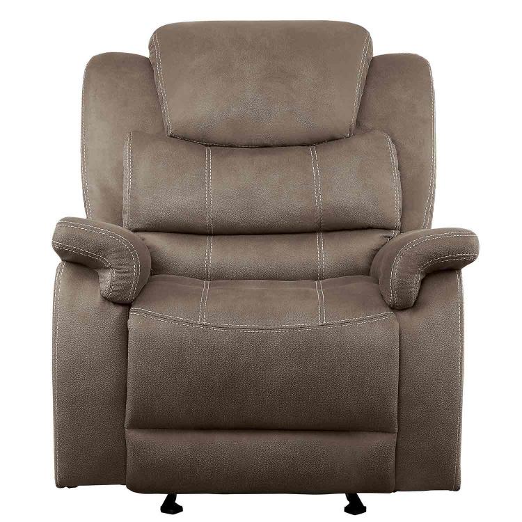 Shola Glider Reclining Chair - Brown