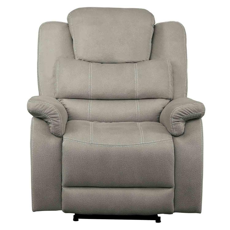 Shola Glider Reclining Chair - Gray