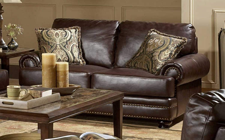 Bentleys Love Seat - Homelegance