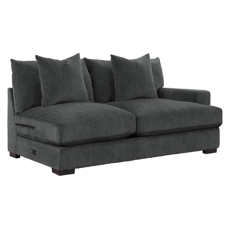 Worchester Right Side 2-Seater - Dark gray
