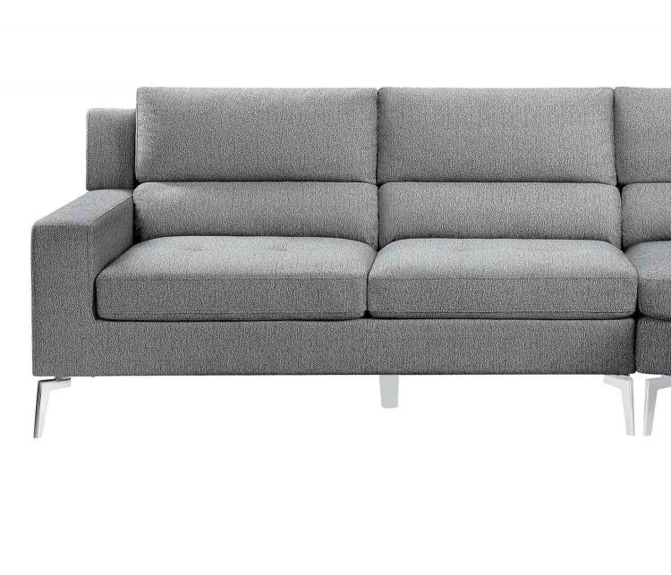 Bonita Left Side 2-Seater - Gray