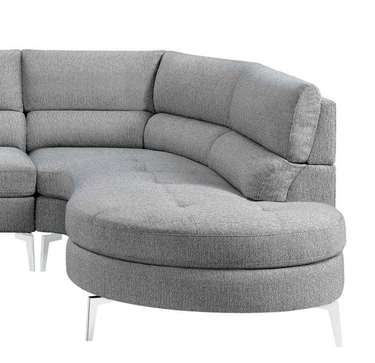 Bonita Right Side Chaise - Gray