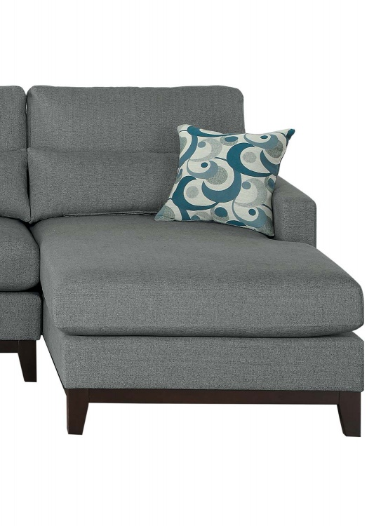 Greerman Right Side Chaise - Gray