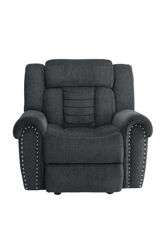 Nutmeg Glider Reclining Chair - Charcoal Gray