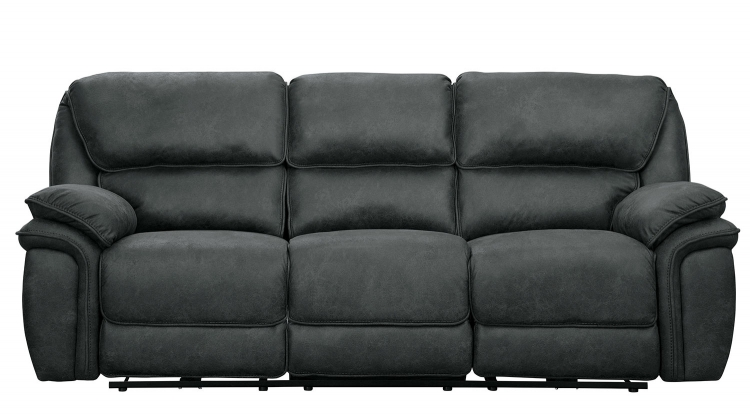 Hadden Power Reclining Sofa Set - Gray