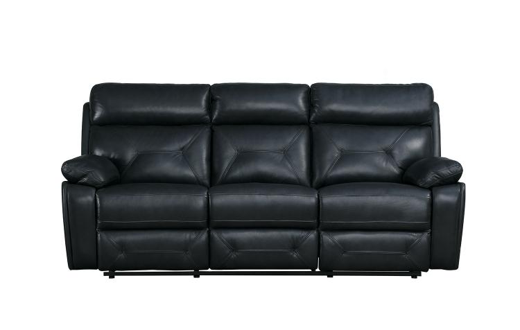 Resonance Double Reclining Sofa - Dark Gray