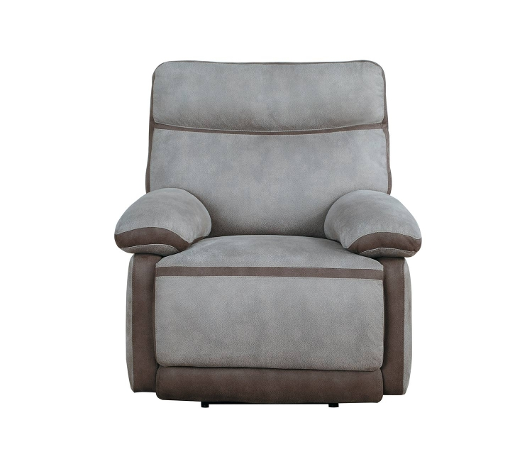 Barilotto Power Reclining Chair With Power Headrest - Gray