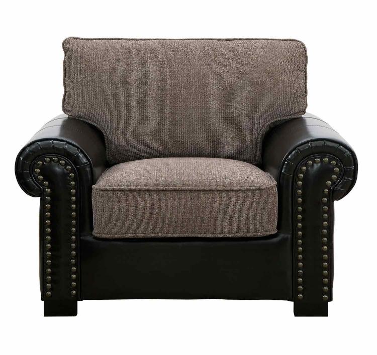 Boykin Chair - Brown Chenille