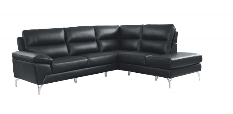 Cairn Sectional Sofa Set - Black