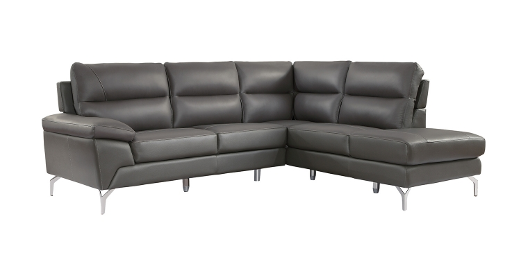Cairn Sectional Sofa Set - Gray