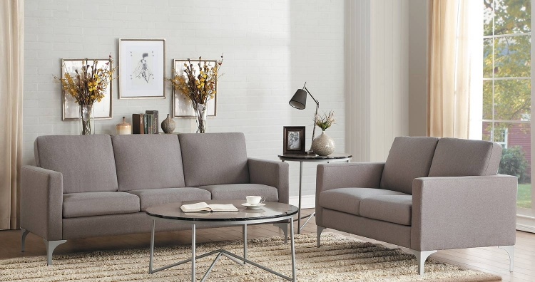 Soho Sofa Set - Brownish Gray