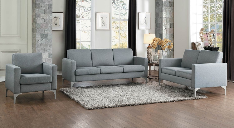 Soho Sofa Set - Light Gray