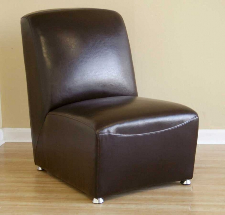 A-71 Full Leather Club Chair - Wholesale Interiors