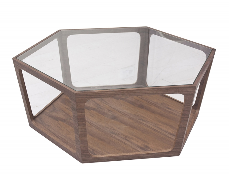 Newbury Walnut Coffee Table