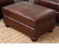 Ashley Leather Ottoman