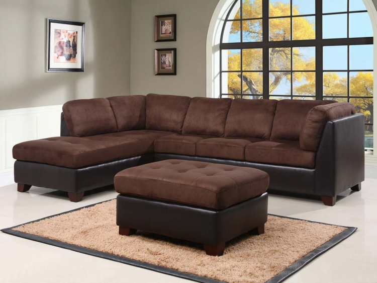 Charlotte Sectional Sofa and Ottoman