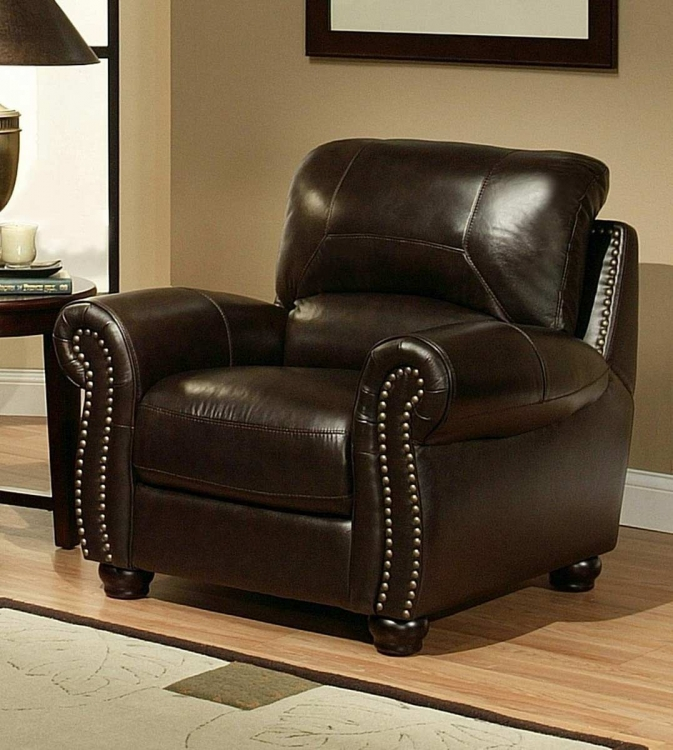 Monaco Italian Leather Armchair