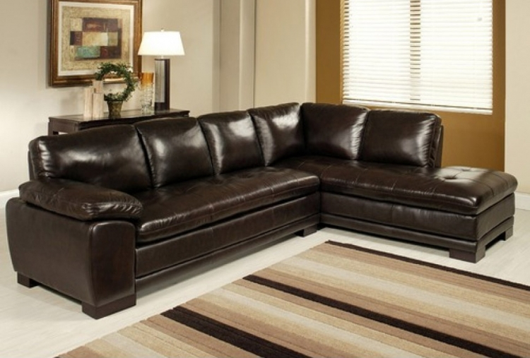 Tivoli Premium Italian Leather Sectional Sofa