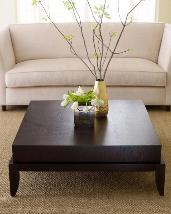 Morgan Square Coffee Table - Abbyson Living