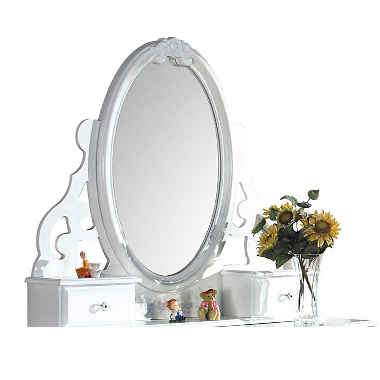 Flora Jewelry Mirror - White